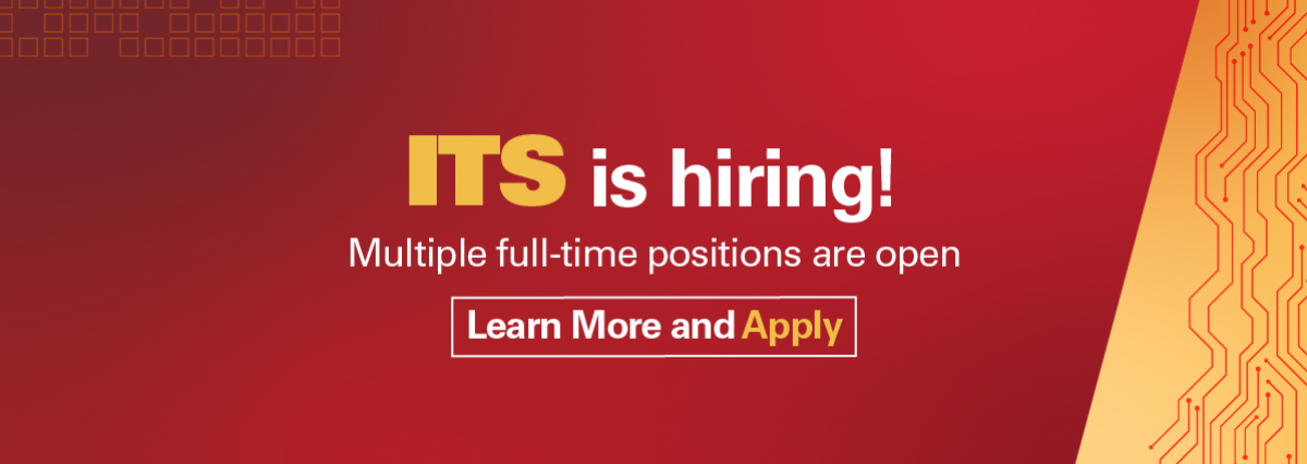 ITS is Hiring